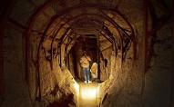 У кургані невідомі викопали тунель