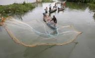 У волинському озері знайшли 400 метрів «нічийних» рибальських сіток. ФОТО