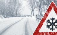 Серпнева зима: на Одеській трасі пішов сніг з дощем. ВІДЕО