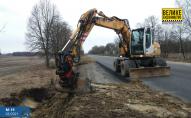 Водіїв попереджають про обмеження руху через ремонт дороги на Волині. ФОТО