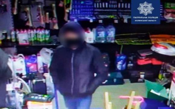 У Ковелі зловили магазинного злодюжку. ФОТО