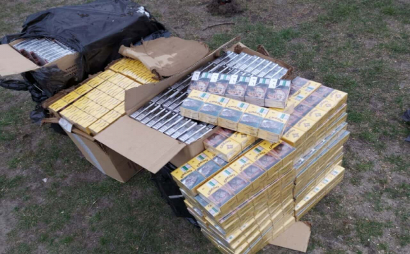 На Волинь контрабандисти поставляли сигарети з Білорусі. ФОТО