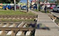 На залізничній станції потяг збив на смерть неповнолітнього хлопчика. ФОТО