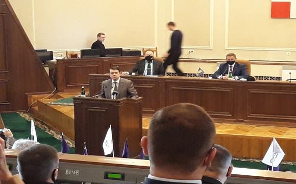 Голова Верховної Ради вже в Луцьку