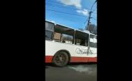 У Луцьку ДТП з тролейбусом. ВІДЕО