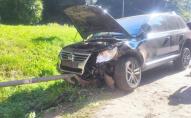 На Волині легковик зіткнувся з позашляховиком, потерпілих госпіталізували. ФОТО