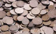 Працівнику видали зарплату 230 кг брудних монет. ВІДЕО
