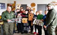 На Волині школярі виготовляли хатинки для кажанів. ФОТО