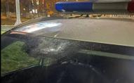 Інвалід з психічними розладами: на Волині чоловік кинув камінь у поліцейське авто. ФОТО