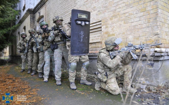 Волинські СБУшники нейтралізували «терористів»
