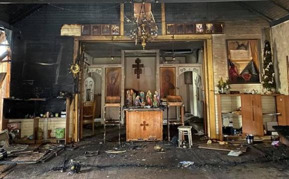 На Львівщині в церкві пролунав вибух. ФОТО