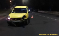 У Луцьку автівки не поділили дорогу. ФОТО