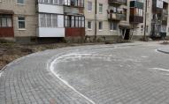 У Луцьку завершуються ремонтні роботи у дворах та на тротуарах міста. ФОТО