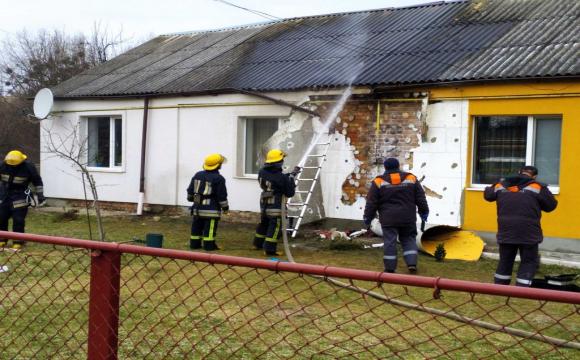 Через газове обладнання горів житловий будинок у Луцьку