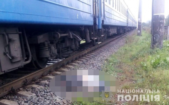 На Волині чоловік загинув під колесами пасажирського потяга