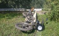 На Волині вантажівка наїхала на мотоцикліста, чоловіка госпіталізували. ФОТО