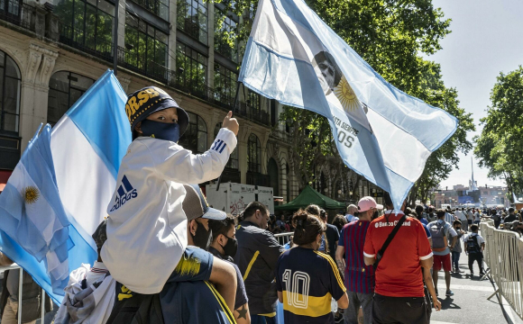 У Буенос-Айресі перервали церемонію прощання з Марадоною через заворушення