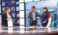 Прибиральниця помила підлогу в прямому етері українського телеканалу і прославилась на всю мережу. ВІДЕО