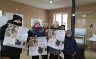 Учні луцької школи №26 допомогли безпритульним тваринам. ФОТО