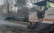 Розпочали ремонт доріг в сторону Шацьких озер. ФОТО