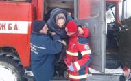 На Волині лікар з пацієнтом добирались в лікарню на пожежній автоцистерні