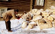 Муніципали пообіцяли штрафувати лучан за дрова на узбіччі. ФОТО