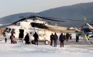 У Росії вертоліт зіткнувся з будівлею аеропорту. ВІДЕО