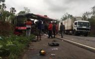 Після зіткнення двох пасажирських автобусів загинули 17 осіб