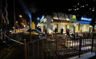 В Одесі авто влетіло в McDonalds і збило людину