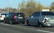 Масштабна ДТП поблизу Луцька: зіткнулися чотири автомобілі. ФОТО