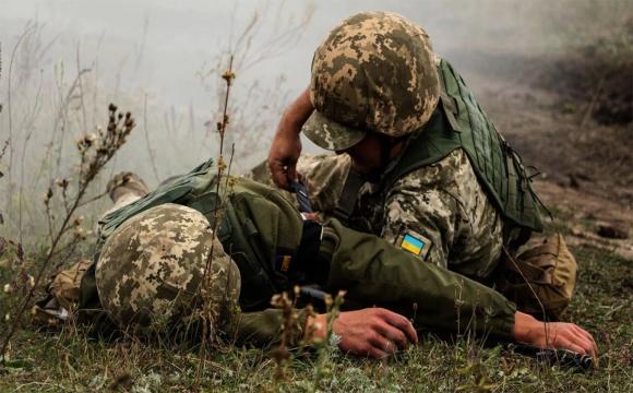 Кількість загиблих та поранених військових на Донбасі за 2020 рік