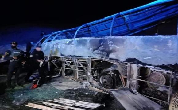 У Єгипті згорів автобус з пасажирами