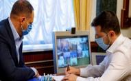 Зеленський проводить консультації з лідерами «нормандської четвірки» через загострення на Донбасі