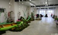 Під Луцьком розпочалась виставка квітів. ФОТО
