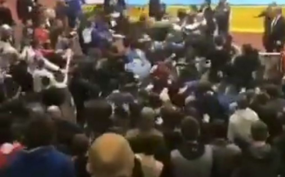 Турнір із дзюдо в Росії завершився масовим побоїщем. ВІДЕО