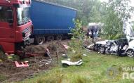 У жахливій аварії на Рівненщині загинув волинянин, винуватця затримали. ФОТО