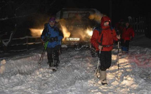 Рятувальники знайшли зниклого в Карпатах лижника. ФОТО