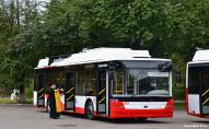 Луцьк отримав ще один новий тролейбус