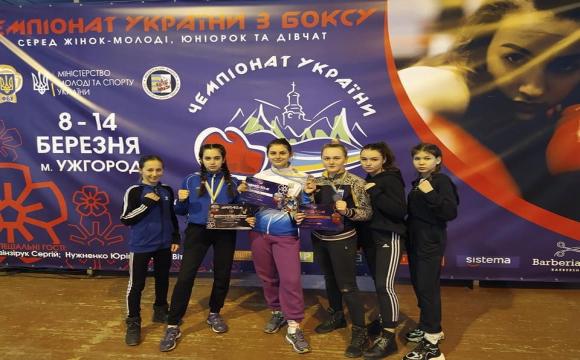 Волинські спортсменки здобули 8 медалей на чемпіонаті України з боксу. ФОТО