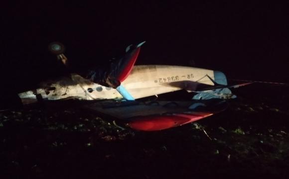 У Тернопільській області розбився літак