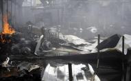Пожежа у центрі для мігрантів: заживо згоріли 60 людей